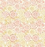 Seamless decorative pattern Endless hand drawn ba stock illustration