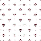 Seamless decorative pattern Royalty Free Stock Images