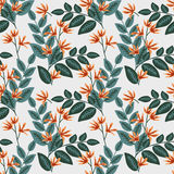 Seamless decorative pattern Stock Photos