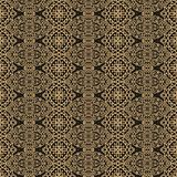 Seamless decorative pattern in medieval style Royalty Free Stock Image