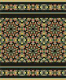 Seamless decorative pattern in medieval style Stock Images