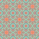 Seamless decorative pattern in medieval style Stock Image