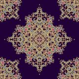 Seamless decorative pattern in medieval style Royalty Free Stock Photos