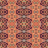Seamless decorative pattern in medieval style Stock Photography