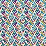 Seamless decorative pattern Stock Photography