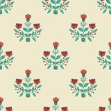 Seamless decorative pattern Stock Images