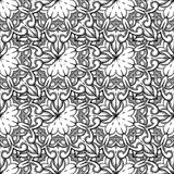 Seamless decorative pattern. Ornament with mosaic elements Stock Photos