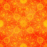 Seamless decorative pattern. Ornament with mosaic elements Royalty Free Stock Photo