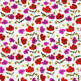 Seamless decorative pattern Royalty Free Stock Photos