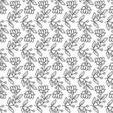 Seamless decorative pattern Royalty Free Stock Image