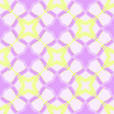 Seamless decorative pattern with stars Royalty Free Stock Images