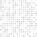 Seamless decorative pattern with stars Stock Photography
