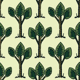 Seamless decorative pattern Stock Photos