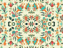 Seamless decorative pattern in turkish style Royalty Free Stock Photography