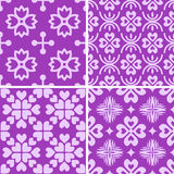 Seamless decorative patterns Stock Photography