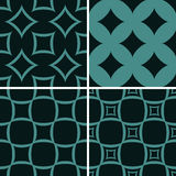Seamless decorative patterns Royalty Free Stock Image