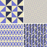 Seamless decorative patterns Stock Images