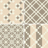 Seamless decorative patterns Royalty Free Stock Photos