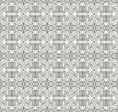 Seamless decorative retro pattern Royalty Free Stock Image