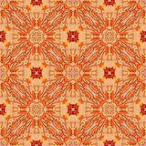 Seamless decorative rpattern Stock Photography