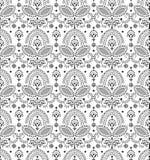Seamless decorative vector wallpaper Royalty Free Stock Photos