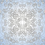 Seamless decorative victorian ornament Stock Image