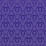 Seamless decorative wallpaper Royalty Free Stock Image