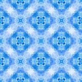 Seamless decorative  watercolor rpattern Royalty Free Stock Photography