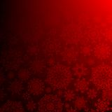 Seamless deep red christmas. EPS 10 Royalty Free Stock Image