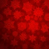 Seamless deep red christmas pattern. EPS 10 Stock Images