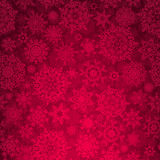 Seamless deep red christmas texture pattern. EPS 8 Stock Photography