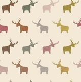 Seamless Deer Stock Images