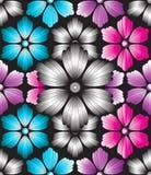 Seamless dekorativ bakgrund Royaltyfri Foto