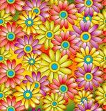 Seamless dekorativ vektorbakgrund Royaltyfri Fotografi