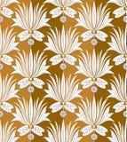 Seamless dekorativ wallpaper Royaltyfri Fotografi