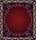 Seamless dekorativ wallpaper Arkivbild