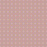 Seamless delicate retro pattern pink yellow vector illustration