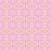 Seamless delicate stripes pattern pink yellow vertically stock illustration