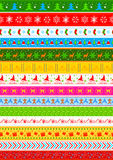 Seamless design for Christmas Holiday background Royalty Free Stock Images