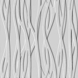 Seamless Design Creativity 3D Background of Lines, Vector Illustration. Stock Photography