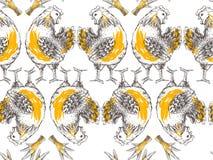 Seamless designe pattern Royalty Free Stock Images