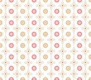 Seamless designer wallpaper Stock Image