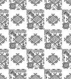 Seamless designer wallpaper Royalty Free Stock Image