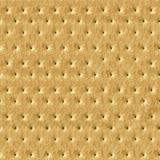 Seamless Detailed Salty Cracker Close-Up Texture Stock Images