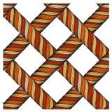 Seamless detailed texture of orange threads Royalty Free Stock Photos