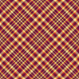 Seamless diagonal checkered pattern Royalty Free Stock Photo