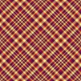 Seamless diagonal checkered pattern Royalty Free Stock Photo