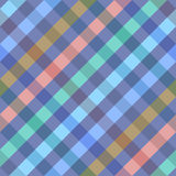 Seamless diagonal checkered pattern. Royalty Free Stock Photography