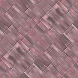Seamless diagonal mosaic background in violet spectrum Royalty Free Stock Images