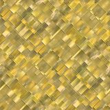 Seamless diagonal mosaic background in yellow spectrum Royalty Free Stock Image